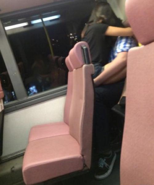 バスの中でHしていたバカップルが忘れ物!!!2